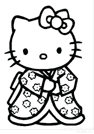 Halloween Hello Kitty Coloring Pages Free Printable Coloring Pages