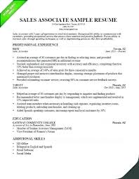 Fashion Merchandising Resume