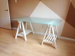 white table top ikea. Marvelous Ikea Glass Table Tops IKEA Desk Top With Adjustable White  Trestle Legs. White Table Top Ikea T