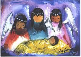 de grazia angels nativity