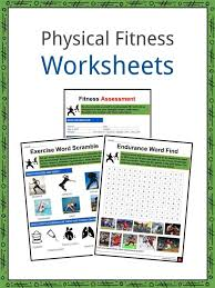 physical fitness facts worksheets