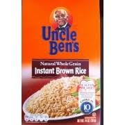 uncle ben s instant brown rice nutrition