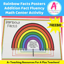 Free Printable Rainbow Facts Chart Teaching Skip Counting Its More Than Chanting
