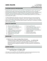 Sample Resume For Customer Service Representative In Bank. Passenger ...
