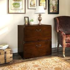 2 drawer lateral file cabinet wood white oak solid