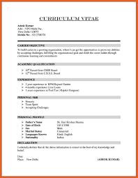 7-8 cv resume sample | resumeheader