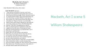 day macbeth act i scene learnzillion getting started