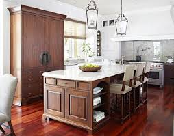 if your kitchen dictates a larger island