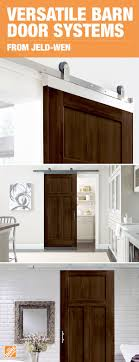 play up your shabby chic style with modern barn door hardware the jeld wen