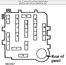 1998 mazda protege radio wiring diagram wirdig