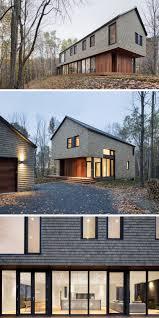 shingle siding house. 13 Examples Of Modern Houses With Wooden Shingles // Cedar Shingle Siding Feels Perfect For House D