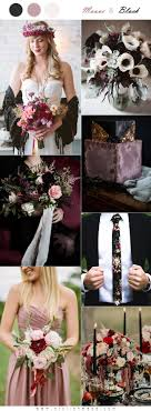 The Hottest 6 Mauve Wedding Color Palettes To Die For Stylish