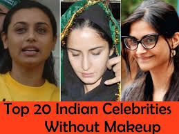 hey guys have you ever wondered the celebrities without makeup to whom you admire and adulate for their looks and acting