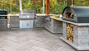 Outdoor Cooking Area - www.Mansfieldbrickandsupply.com