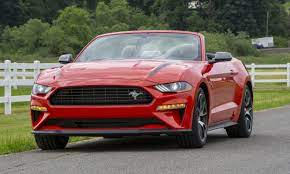 2020 Ford Mustang Ecoboost Hpp Convertible Review Mustang Ecoboost Ford Mustang Ecoboost Ford Mustang