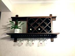 hanging wine glass rack plans wall mounted wine glass holder wine racks wall mounted wine rack