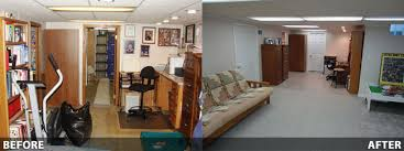 basement remodels before and after. Amazing Finished Basement Ideas Before And After Finishing In Rockford Milwaukee Remodels