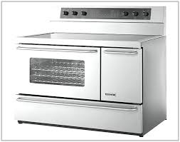 kitchenaid electric range white kitchen ideas