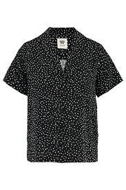 Women Blouse collar Ivy Black Buy Online