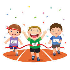 Image result for running race cartoon