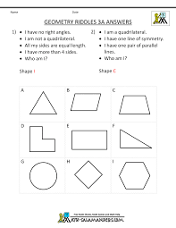 geometry worksheets riddles geometry riddles 3a acircmiddot geometry riddles 3a answers