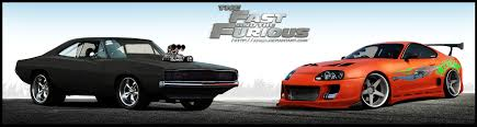 Fast And Furious Dodge Charger Toyota Supra by aNqUi on DeviantArt