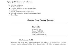 Restaurant Shift Leader Sample Resume Cv And Resume Sample