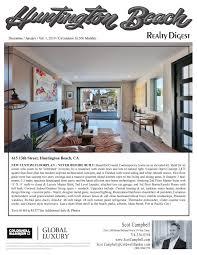 Interior Design Huntington Beach Ca Realty Digest Huntington Beach Ca December January Vol