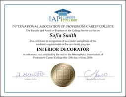 certificate of interior design.  Certificate Interior Designer Certification Beautiful Design Experience Certificate  Format Best Of Decorating Inside F