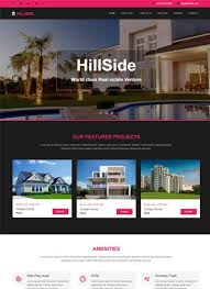 real state template latest real estate website templates free download 2019 webthemez