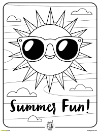 Fun Coloring Pages Printable Best Summer Middle School Fresh Free Of