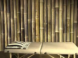 image of bamboo wall panels wallpaper