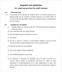 Catering Proposal Letter