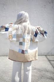 37 best Quilts - Wearable images on Pinterest | Bijou, Butterflies ... & blueberrymodern: jess feury quilted jacket - oroboro store Adamdwight.com