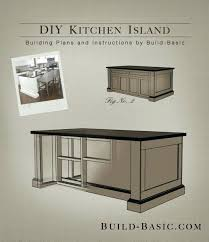 kitchen island from stock cabinets build a kitchen island building plans by basic kitchen island out