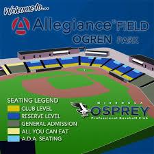 Missoula Osprey Vs Billings Mustangs On 6 24 2019 Tickets