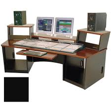 Omnirax Force 36 Multi-purpose Audio Video Workstation (Black)