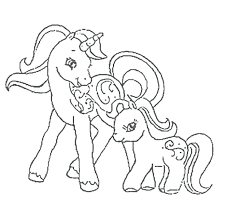 My Lil Pony Coloring Pages My Little Pony Coloring Pages Mother And