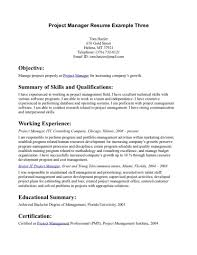 Project Management Resume Objectives Sample Resume Objectives Property Management Resumes Objective Good 13