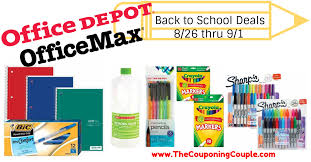 Office Depot Logo Design Extraordinary Office Depot OfficeMax Back To School Deals For 4848 To 48484848