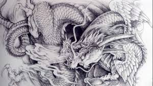 Dragon Tattoo Sketch