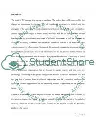 international marketing essay