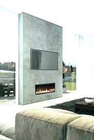 electric fireplace modern wall insert inserts media console flush fitting mount stand gas home depot dir
