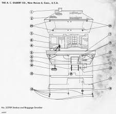 american flyer baggage smasher 23789 parts list & diagram traindr american flyer wiring diagrams american flyer station and baggage smasher 23789 parts list & diagram
