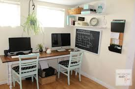 two person desk home office. Two Person Desk Home Office Popular Double Furniture Throughout 17 E