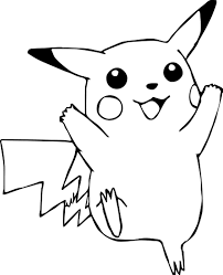 Small Picture adult pikachu coloring page pokemon pikachu coloring pages online