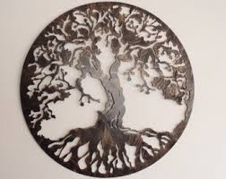 tree of life antique look 29 5 in diameter on wall art metal tree of life with tree of life antique look wall decor metal art