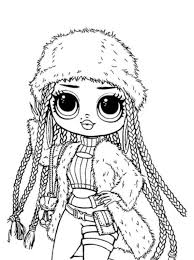 Great and fun coloring pages for kids. Surprise Dolls Lol Dolls Coloring Pages Novocom Top