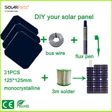 compare prices on diy solar panel kit online shopping buy low Diy Solar Panel Wiring Diagram solarparts diy solar panel kits with 125*125mm monocrystalline solar cell use flux pen diy solar panel wiring diagram