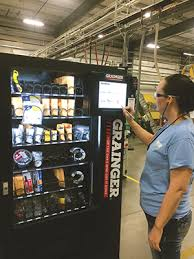Safety Glasses Vending Machine Stunning Special Report Onsite Vending Machines Provide Work Supplies